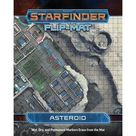Paizo Starfinder RPG: Flip-Mat - Asteroid