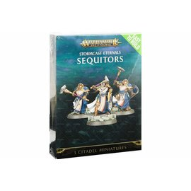 Games Workshop Age of Sigmar - Stormcast Eternals - Easy to Build Sequitors (SL)