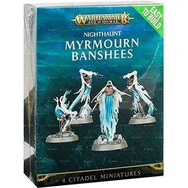Games Workshop Age of Sigmar:  Nighthaunt -  Easy to Build Myrmourn Banshees (SL)