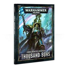 Games Workshop Warhammer 40k: Codex: Thousand Sons (8th Edition)