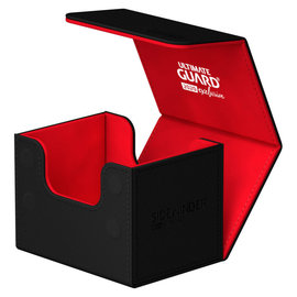 Ultimate Guard Ultimate Guard - Sidewinder Deck Case 100+ Red and Black (2020 Exclusive)