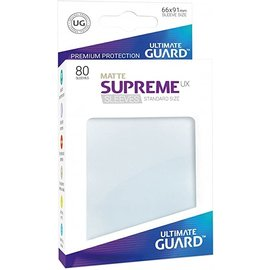 Ultimate Guard Ultimate Guard - Standard Sleeves UX - Matte Frosted 80