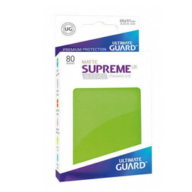 Ultimate Guard Ultimate Guard - Standard Sleeves UX - Matte Lt Green 80