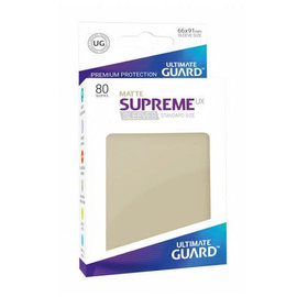 Ultimate Guard Ultimate Guard - Standard Sleeves UX - Matte Sand 80