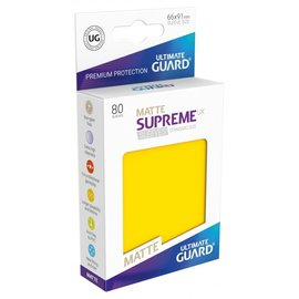 Ultimate Guard Ultimate Guard - Standard Sleeves UX - Matte Yellow 80