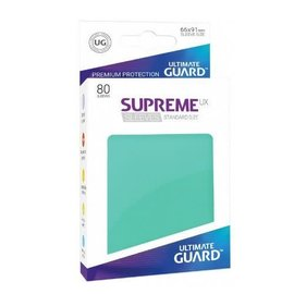 Ultimate Guard Ultimate Guard - Standard Sleeves UX - Turquoise 80