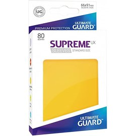 Ultimate Guard Ultimate Guard - Standard Sleeves UX - Yellow 80