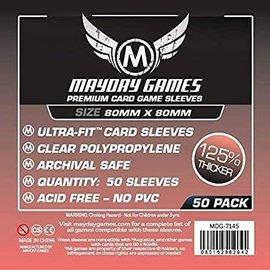 Mayday Games Mayday Sleeves: Medium Premium Square Sleeve 80mm x 80mm (50)