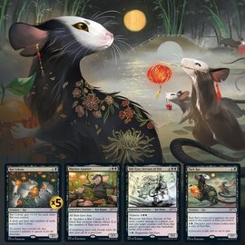 Wizards of the Coast Magic Secret Lair - Year of the Rat