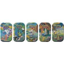 Pokemon International Pokemon Evolution: Galar Friends Mini Tin - Grookey