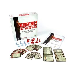 Steamforged Games Resident Evil 2 - The Board Game Survival Horror Expansion