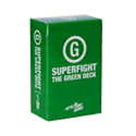 Skybound Games SUPERFIGHT!: Green Deck