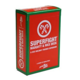 Skybound Games SUPERFIGHT!: Naughty and Nice Deck (18+)