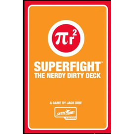 Skybound Games SUPERFIGHT!: Nerdy Dirty Deck (18+)