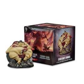 Wizards of the Coast Icons of the Realms - Storm King's Thunder - Chief Guh Booster - Premium Figure