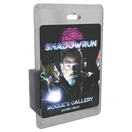 Catalyst Shadowrun RPG: 6th Edition Rogue`s Gallery - An NPC Deck