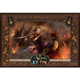 Cool Mini or Not A Song of Ice & Fire Tabletop Miniatures Game: Bloody Mummer Skirmishers Unit Box