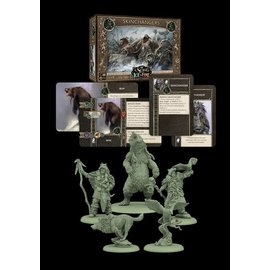 Cool Mini or Not A Song of Ice & Fire Tabletop Miniatures Game: Free Folk Skinchangers Unit Box