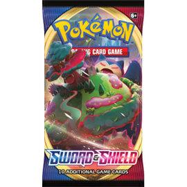 Pokemon International Pokemon Sword and Shield Booster Pack
