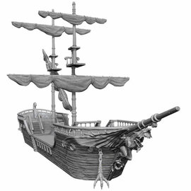 Wizards of the Coast Dungeons and Dragons: Icons - Falling Star Ship - Unpainted