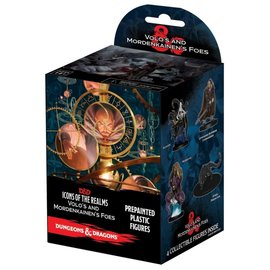 Wiz Kids Dungeons & Dragons Fantasy Miniatures: Icons of the Realms Set 13 Volo & Mordenkainen`s Foes Booster Pack