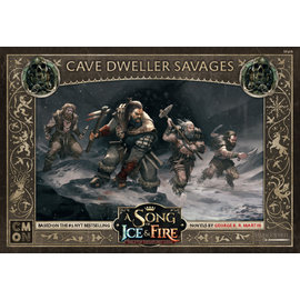 Cool Mini or Not A Song of Ice & Fire Tabletop Miniatures Game: Free Folk Cave Dweller Savages Unit Box