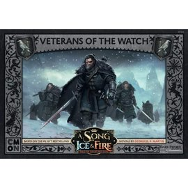 Cool Mini or Not A Song of Ice & Fire Tabletop Miniatures Game: Night`s Watch Veterans of the Watch Unit Box