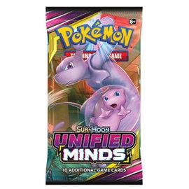 Pokemon International Pokemon Sun & Moon: Unified Minds Booster Pack