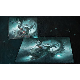 USAopoly Court of the Dead - Death's Siren 1000 Piece Puzzle