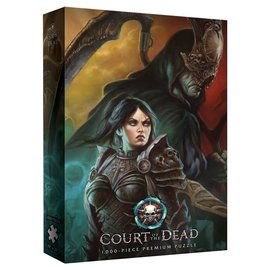 USAopoly Court of the Dead - Life or Death 1000 Piece Puzzle