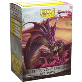 Arcane Tinmen Dragon Shields: (100) Matte Art Sleeves - Mother's Day