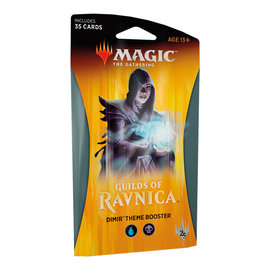 Wizards of the Coast Guilds of Ravnica Dimir Themed Booster Pack