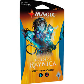 Wizards of the Coast Guilds of Ravnica Izzet Themed Booster Pack