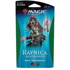 Wizards of the Coast Ravnica Allegiance Gruul Themed Booster Pack