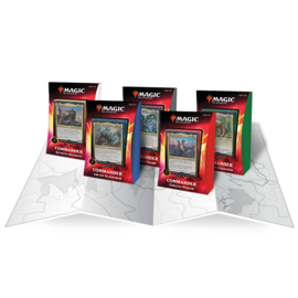 Wizards of the Coast Commander 2020 - Ikoria - Arcane Maelstrom (Green/Blue/Red)
