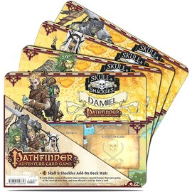 Ultra Pro Pathfinder Adventure Card Game: Skull & Shackles Add-On Deck Mats