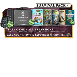 Arvis Games Board Royale Survival Card Game - Survivor's Kickstarter Edition (PREORDER Local Pickup Only)