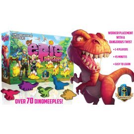 Gamelyn Games Tiny Epic Dinosaurs (Deluxe Kickstarter Edition)