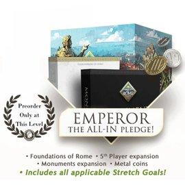 Arcane Wonders Foundations of Rome Emperor Pledge (PREORDER-Local Pickup Only)