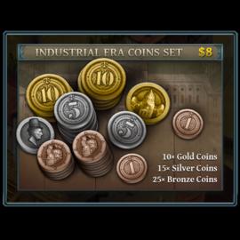 Vesuvius Media Metal Industrial Era Coins (50 Pieces)