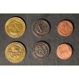 Vesuvius Media Metal Medieval Era Coins (50 Pieces)