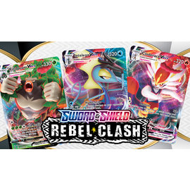 Pokemon International Pokemon Sword and Shield Rebel Clash Build and Battle Bundle