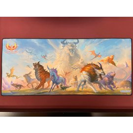 Phoenix Fire Games Phoenix Fire Ikoria: Lair of Behemoths Extended Length Playmat
