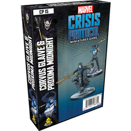 Fantasy Flight Marvel: Crisis Protocol - Corvus Glaive and Proxima Midnight Character Pack