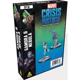 Fantasy Flight Marvel: Crisis Protocol - Gamora and Nebula Character Pack