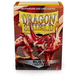 Dragon Shields Dragon Shields: (100) Matte Ruby