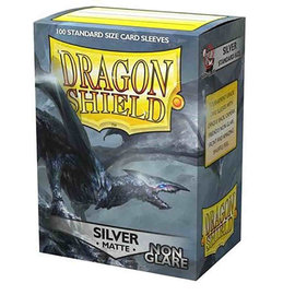 Dragon Shields Dragon Shields: (100) Non-Glare - Matte Silver