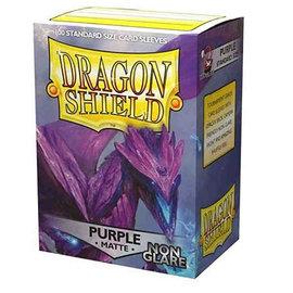 Dragon Shields Dragon Shields: (100) Non-Glare - Matte Purple