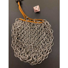 Brady Fuller Small Chainmail Dice Bag