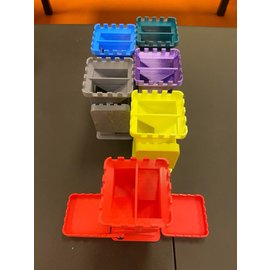 Adam Edmiston 3D Printed Dice Tower - Yellow